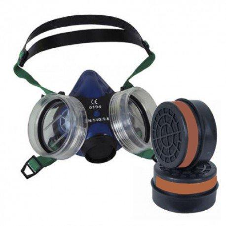 Kit protecció n respiratoria - Buconasal, Má scara + Filtros (2 Ud.) MASPER A1B1E1K1 Máscara + Filtros (2 Ud.) MASPER A1B1E1K1 Ymbersa Náyade S.L.