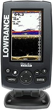 Lowrance Sonda Elite-4x Chirp Transductor de popa 50/200-455 ...
