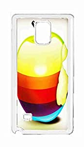 fruit red apple pattern Snap-on Hard Back Case Cover Shell for Samsung Galaxy Note 4 -3073
