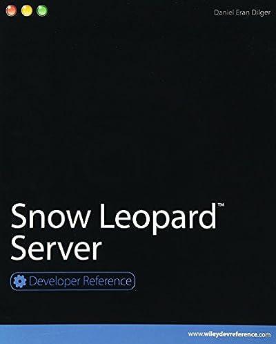 snow leopard server developer reference daniel eran dilger rh amazon com Mac Mini Server Server Wallpaper