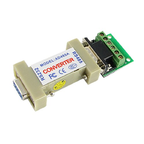 uxcell New 9 PIN DB9 RS-232 to RS-485 Adapter Interface Converter