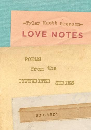 Love Notes: 30 Cards (Postcard Book): Poems from the Typewriter - Buy Uk Typewriter