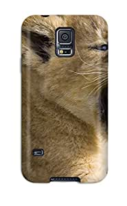 Excellent Galaxy S5 Case Tpu Cover Back Skin Protector Lion Animal