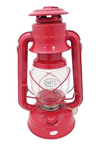 Red Oil Lamp - Dietz #76 Original Oil Burning Lantern (Red)