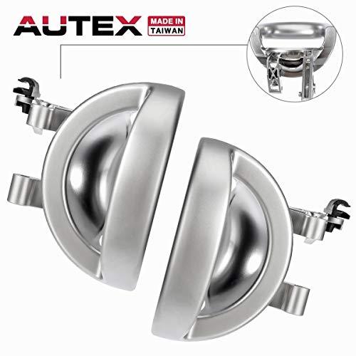 AUTEX 2Pcs Interior Door Handles Front/Rear Left Right Driver Passenger Side Compatible with Dodge Nitro 2007-2011 Door Handle