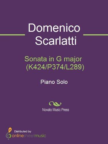 Sonata in G major  (K424/P374/L289)