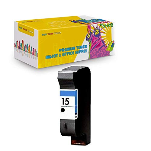 Generic  Remanufactured Ink Cartridge Replacement for HP 15 C6615DN (1 Black)