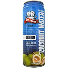Amy & Brian Coconut Water Original, 17.5 Ounce Can (Pack of 12)