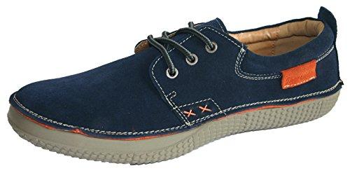 Shoreside Casual Trainer Stil Wildleder Leder Boot Segeln Deck Schuhe Größen 7