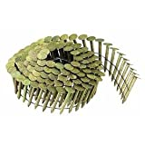 BOSTITCH CR2DGAL 1-Inch 15 Degree Smooth Shank Coil Roofing Nails