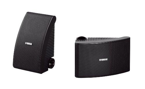 Yamaha NS-AW392 2-weg luidspreker (120 Watt, 86 dB) 1 paar zwart