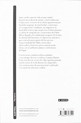 Entre visillos (Contemporánea): Amazon.es: Martín Gaite, Carmen: Libros