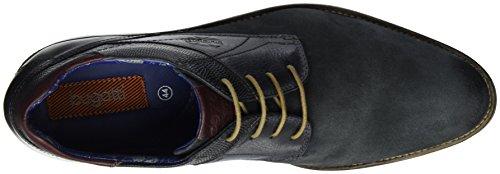 Bugatti Herren 311191013413 Derby Schwarz (d.Schwarz d.Schwarz 4141)