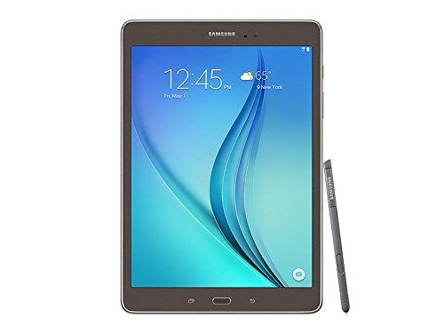 Samsung Galaxy Tab A w/ S Pen 9.7-Inch 16 GB Tablet (Smoky Titanium) - Certified Refurbished
