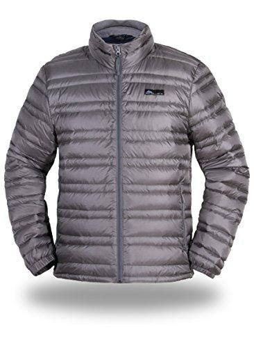 Cordillera One Light - Cordillera Men's Lightweight Down Jacket (Light Grey, M)