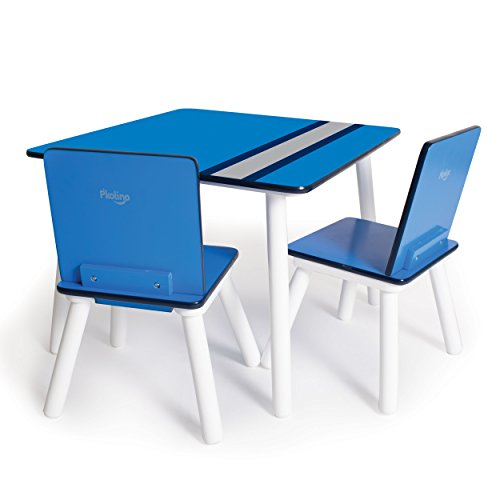P'Kolino Classically Cool Tables and Chairs, Racing Stripes
