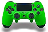 Cheap PS4 Elite Controller With Back Paddles & Trigger Stops – Custom Controller Electric Green Soft Touch Grip Custom Controller Dual Trigger Attachments – Perfect For Esports Tournaments & Competitions!