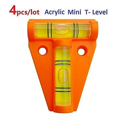4 unids/lote Naranja Acrílico T-Level Tool RV Camper Tralier ...