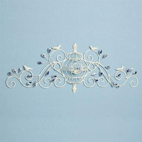 Metal Grille Wall - Touch of Class Marsciano Birdcage Wall Grille White