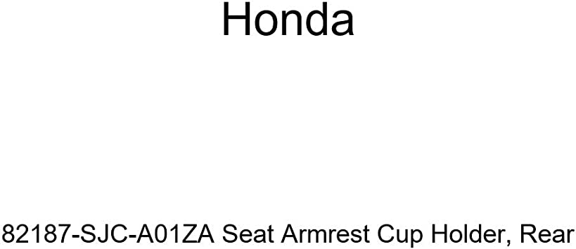 Rear Honda Genuine 82187-SJC-A01ZB Seat Armrest Cup Holder