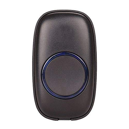Price comparison product image STARPOINT Extra Add-On Remote Transmitter Button for the STARPOINT Expandable Wireless Multi-Unit Long Range Doorbell Chime Alert System, Model LT, Scratch Resistant Matte Black