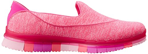 Skechers Baskets Go Femme Rose Basses Flex Hot RRCzqrFx