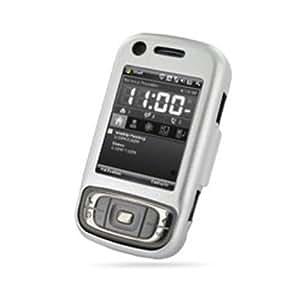 PDair - Carcasa de aluminio para HTC P4550 TYTN 2, color plateado