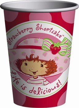 Strawberry Shortcake Paper Cups 8ct