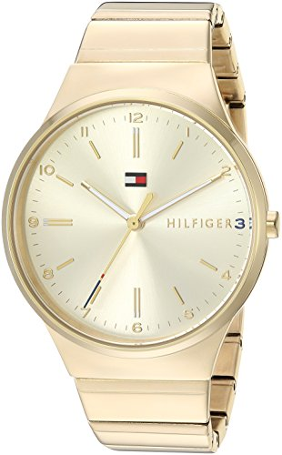 's Sophisticated Sport Quartz Watch with Gold-Tone-Stainless-Steel Strap, 18 (Model: 1781798 ()