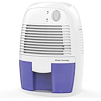 Hysure Portable Mini Dehumidifier Air Purifier 1200 Cubic Feet Electric Safe