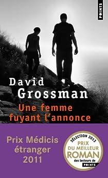 Une femme fuyant l'annonce par Grossman