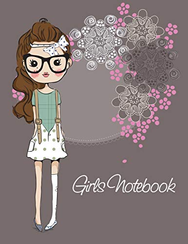 Girls Notebook Paperback – June 30, 2014