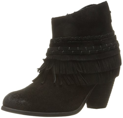 Naughty Monkey Women's in Lyne Ankle Bootie, Black, 7.5 M US - Naughty Monkey Shoes Com