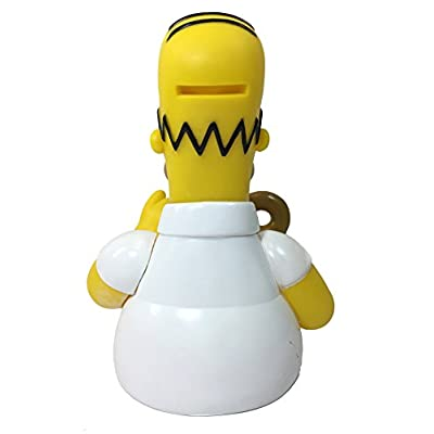 TV Show: Homer Simpsons with Donut Bust Bank - Homer Simpsons Coin Bank: Toys & Games
