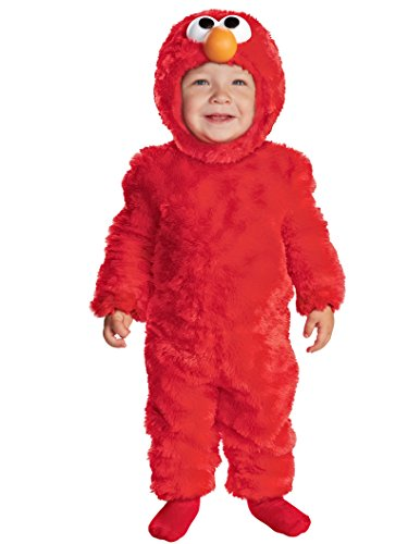 Sesame Street Light Up Elmo Toddler Costume, 3T-4T]()