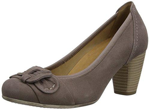Gabor Shimmer - Zapatos para mujer, color Brown (Dark Nude Suede)