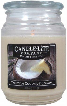 Candle Lite 3297392 18 Oz. Tahiti Coconut Colada Jar Candle ()