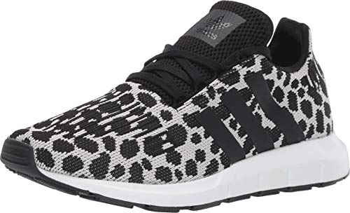 adidas Originals Women's Swift Run W Raw White/Core Black/Carbon 8 B US