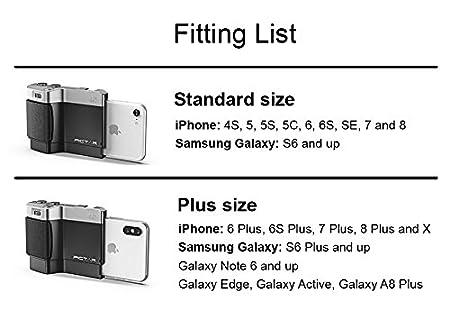 5 Patas met/álicas recubiertas con Silicona Azul Tr/ípode Flexible y Compacto con 3 monturas para Smartphones y c/ámaras Miggo Splat 3N1