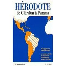 Revue Hérodote 57 De Gibraltar à Panama