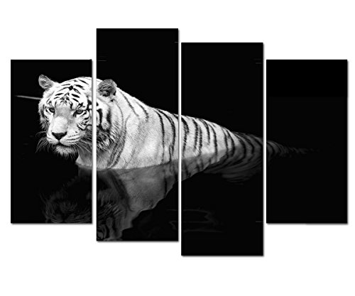 tiger poster black and white