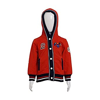 f3469d99c9e0 Sportking Jacket Full Sleeves Sweater For Boys ( Red 20)  Amazon.in ...