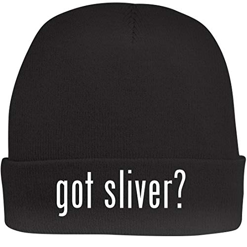 Shirt Me Up got Sliver? - A Nice Beanie Cap, Black, OSFA