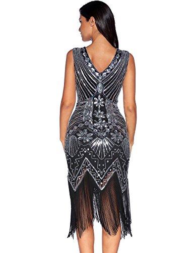 Vintage Sequin Prom Dress
