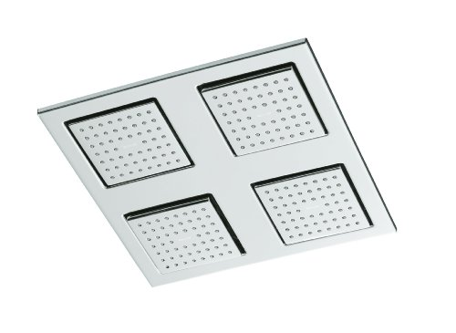 KOHLER K-8030-CP WaterTile Rain Overhead Showering Panel, Polished Chrome