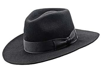Sterkowski Woolen Sewn Trilby Hat Vintage Jazz Style