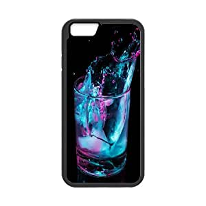 Jumphigh Splash IPhone 6 Case Beautiful Splash, Splash, {Black}