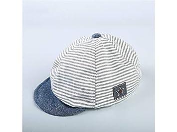 dd84936fdaf Casquette enfant Mignon Bébé Star Strip Casquette De Baseball Sun Hat  Enfant Anti UV Casquette Pour