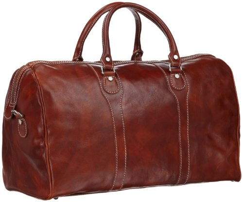 FLOTO Luggage Milano Duffle Bag, Olive Brown, One Size