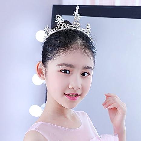 XPY DGX Accessori Per Capelli Da Sposa E Da Sposa Bambini accessori per  capelli crown tornante di ragazze Princess tiara corona corona ragazze  archetto ... 888a83f0744f